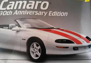1/25 modelismo a escala amt 1997 camaro 3oth aniversary edit
