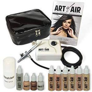 Arte de aire del aerógrafo profesional sistema de maquillaj