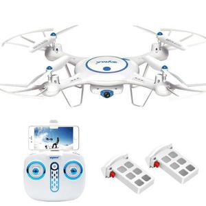 Dron cuadrióptero cheerwing syma x5uw wifi 720p cámara hd
