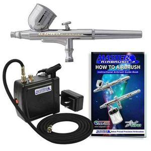 Kit aerografo profesional mini compresor master envió 24