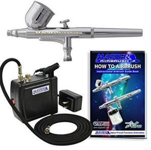 Kit aerografo profesional mini compresor portatil envío