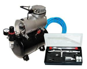 Master airbrush sb88 pro set with tc-20 t air compressor wit