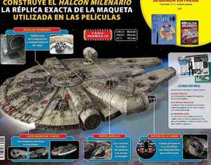 Star wars halcón milenario #1 a 8 planeta de agostini