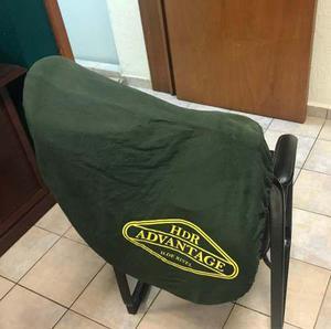 Albardon, silla de montar inglesa para salto hendri de rivel