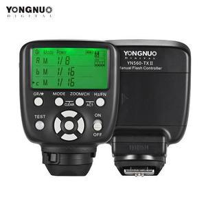 Control transmisor yongnuo yn560 tx ii nueva versión