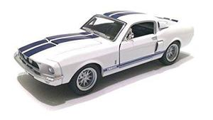 Escala 1/38 1967 ford shelby mustang gt-500 diecast coche b