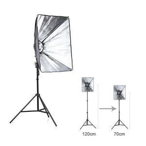Kit fotográfico softbox set fotografía estudio