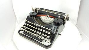 Maquina escribir antigua underwod portable colección