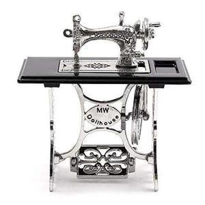 Máquina de coser de la vendimia cheerfullus mini, miniatura