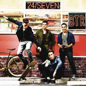 24 / Seven 7 Deluxe - Big Time Rush Btr - Cd Disco - Nuevo