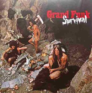 Cd grand funk railroad survival importado de estados unidos