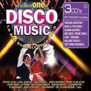 Cd música disco the number one of disco lo más bailado