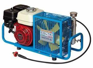 Compresor portatil buceo gasolina motor honda 5.5 hp