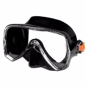 Visor beuchat oceo negro para buceo, apnea y snorkel