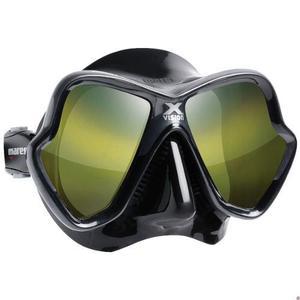 Visor mares liquidskin negro espejeado buceo apnea snorkel