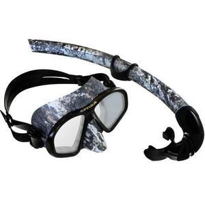 Visor y snorkel hammerhead apnea para buceo, varios colores