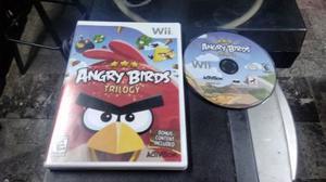 Angry birds trilogy para nintendo wii,excelente