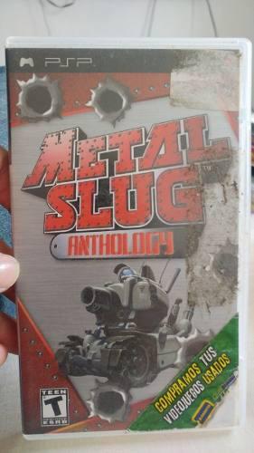 Metal slug anthology psp metal slug, 1,2,3,4,5,6 psp