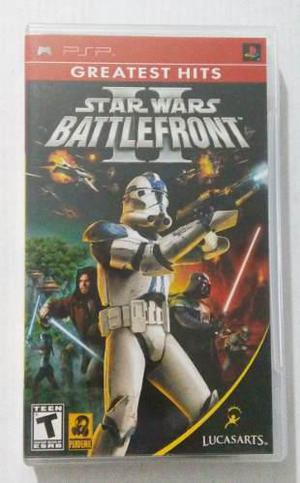 Star wars battlefront ii psp playstation portable trqs 2 sw