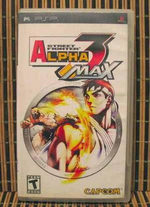 Street fighter alpha 3 - psp peleas 2d - capcom zero 3