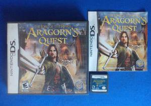Aragorn's Quest Nintendo Ds Nds Completo Retromex Tcvg