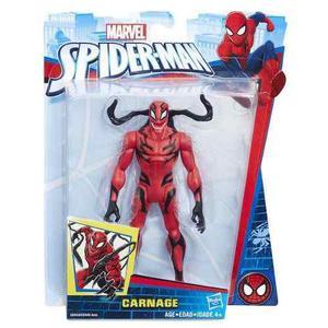 Figura hasbro serie marvel spiderman de carnage + envio *