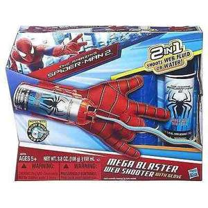 Guante lanza telaraña hombre araña (spiderman)'