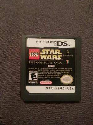 Juegos de ds (star wars, iron chef, los simpsons game)