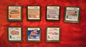 Juegos ds zelda, mario, pokemon baratos