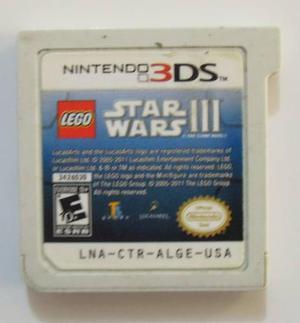 Lego star wars iii para nintendo 3ds