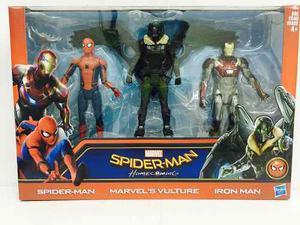 Marvel homecoming spiderman iron man vulture 15cm hasbro