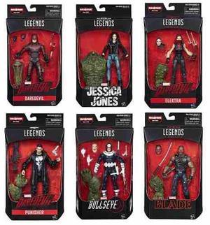 Marvel legends series man-thing 6 figuras nuevas daredevil +