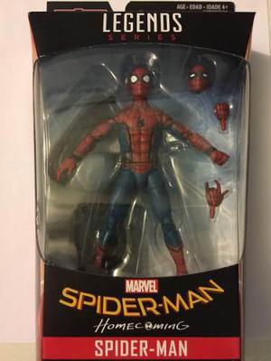 Spiderman homecoming marvel legends series baf vulture nuevo