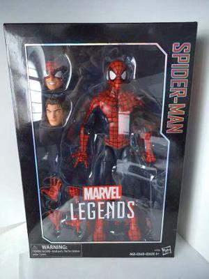 Spiderman marvel legends 29cm tipo icons hasbro