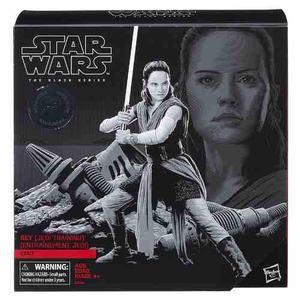 Star wars black series pack rey training on crait hasbro