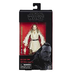 Star wars figura de acción qui gon jinn, black series