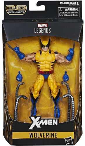 Wolverine marvel legends baf apocalipsis 2018 coleccion new