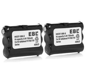 2 baterías radio midland batt3r batt-3r lxt600, envío