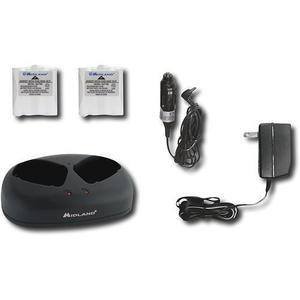 Avp6 midland - paquete de accesorios - baterias y cargador