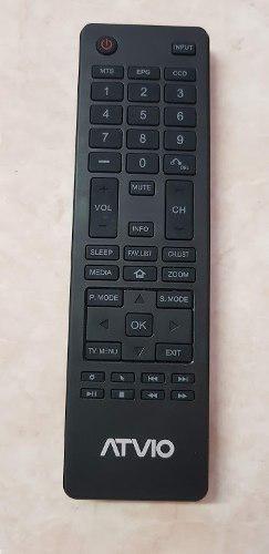 Control atvio pantalla lcd led original nuevo 4k smart tv