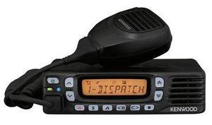 Radio móvil kenwood tk8360 de alta potencia y señal id