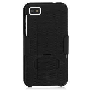 Caso blackberry z10 shell holster combo w / clip de