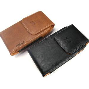 Funda protector portable clip estilo piel cinturon fajo