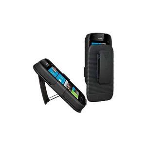 Nokia lumia 510 funda holster combo clip 3 en 1 negro