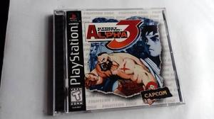 Street fighter alpha 3 playstation one psx ps1