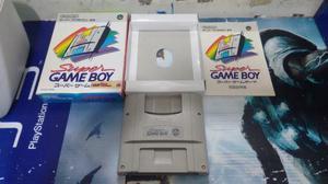 Super game boy player en caja e instructi para super famicom