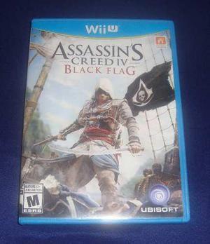Assassins creed iv black flag para wii u