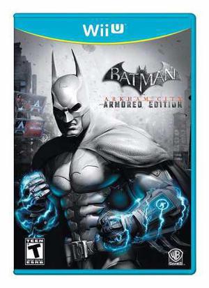 Batman arkham city armored edition nuevo wii u blakhelmet sp