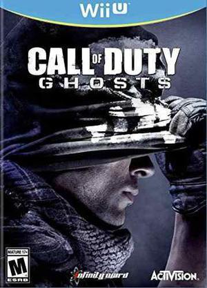 Call of duty fantasmas - nintendo wii u