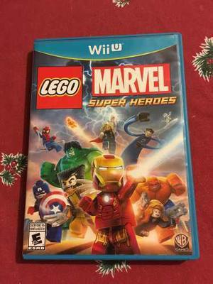 Lego marvel super heroes (ironman thor) para nintendo wii u
